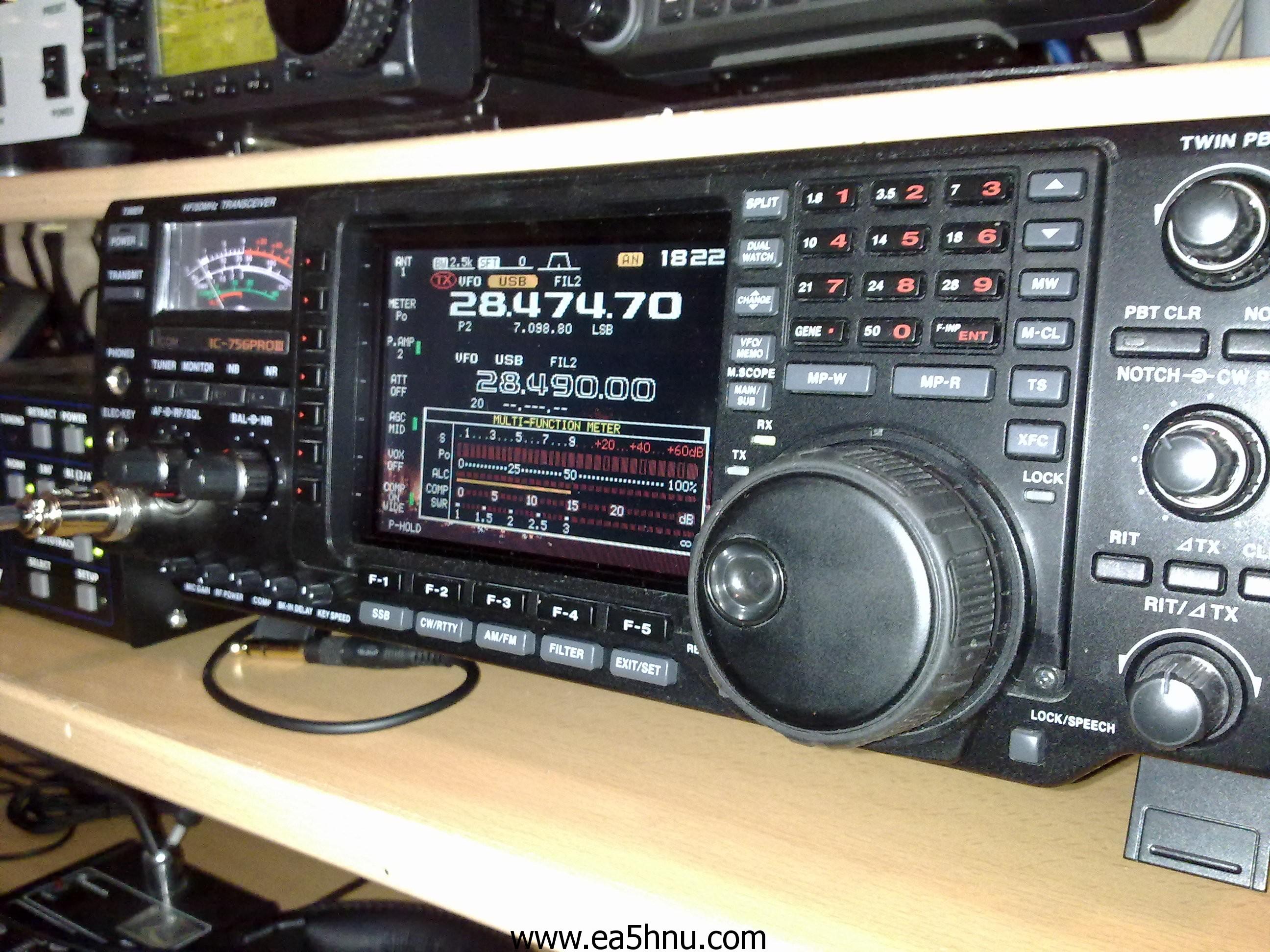 Icom 756 Pro III